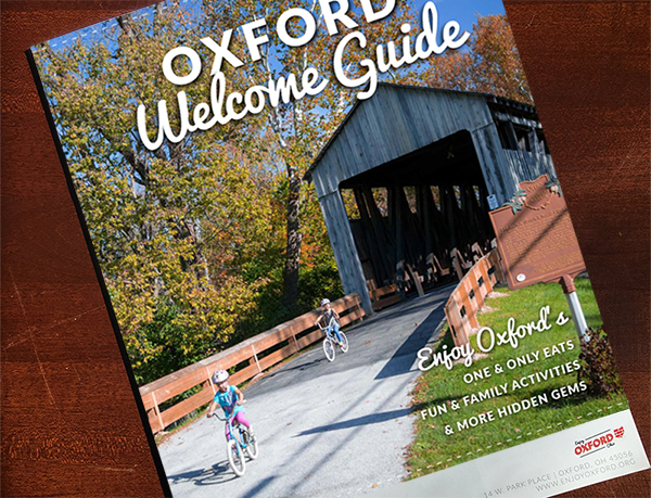 Photo of the Welcome Guide.